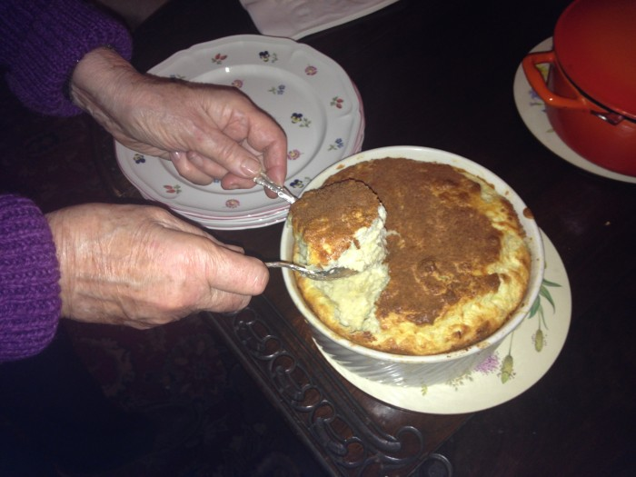 Cheese Soufle