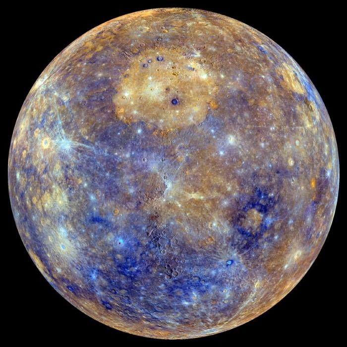 Enhanced Color View of Mercury - NASA