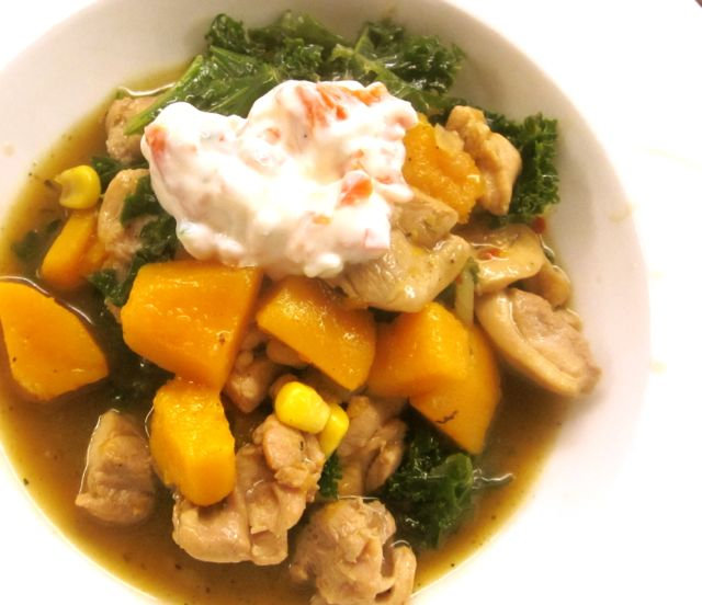 Chicken and Kale Stew