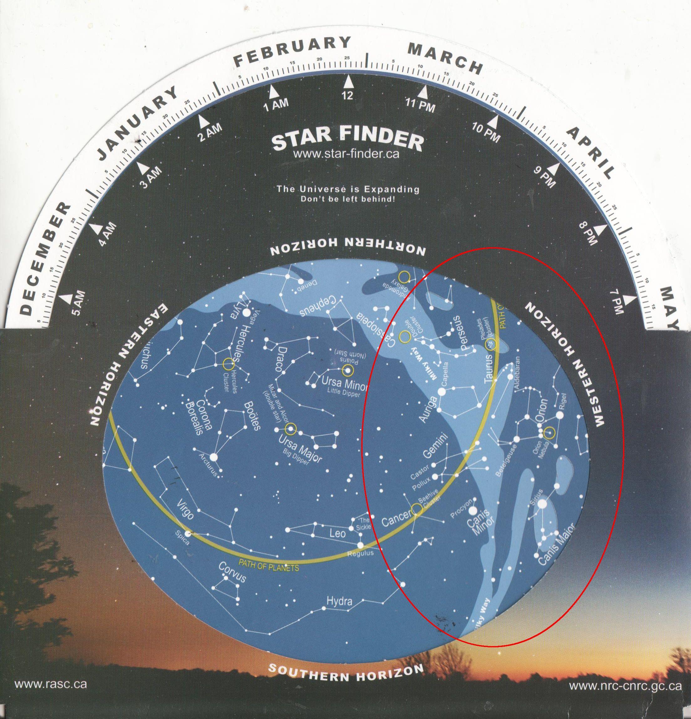 planisphereWest