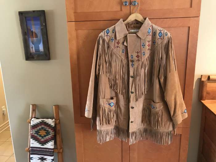 Sold Lew Magram Suede Jacket 140 The Millstone