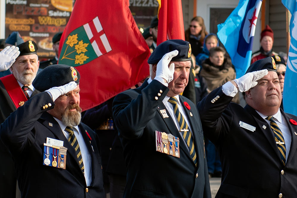 Remembrance Day in Almonte, 2018