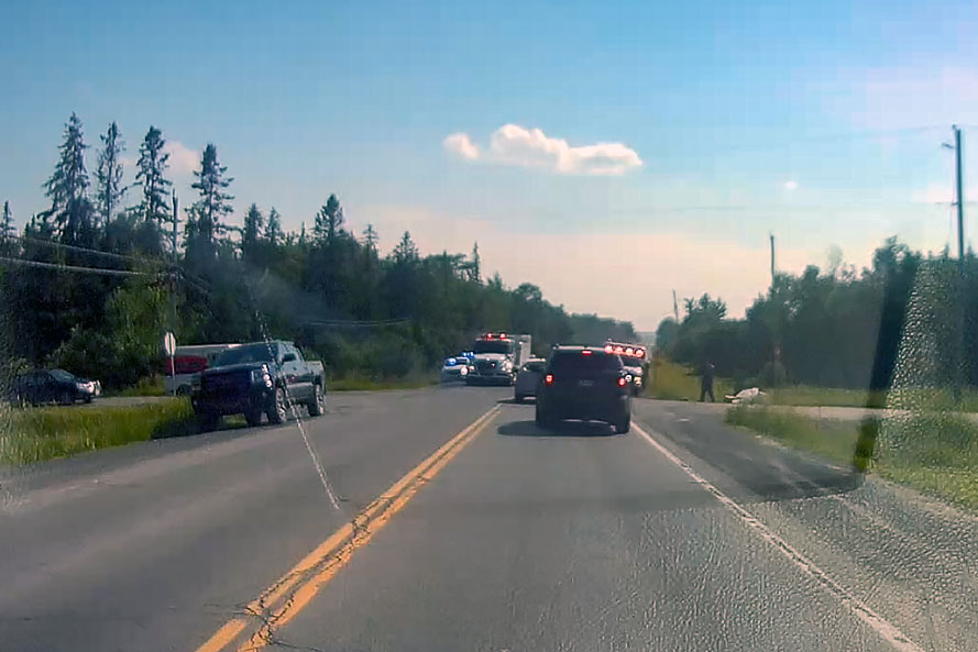 Crash on March Road near Almonte