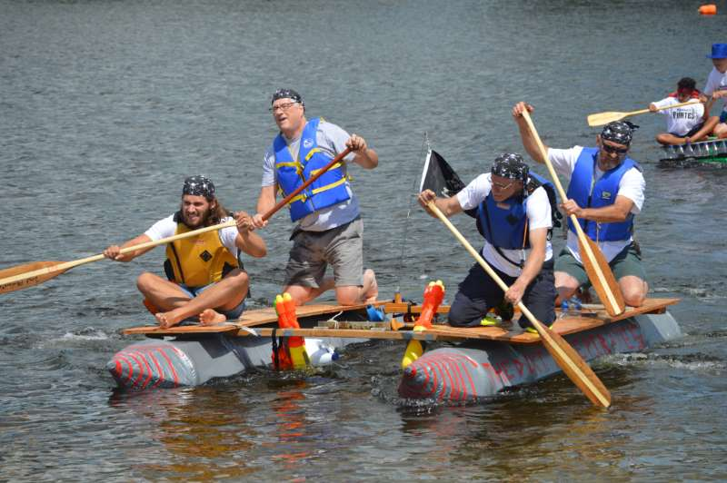 Raft race nets over $10,000 for AGH