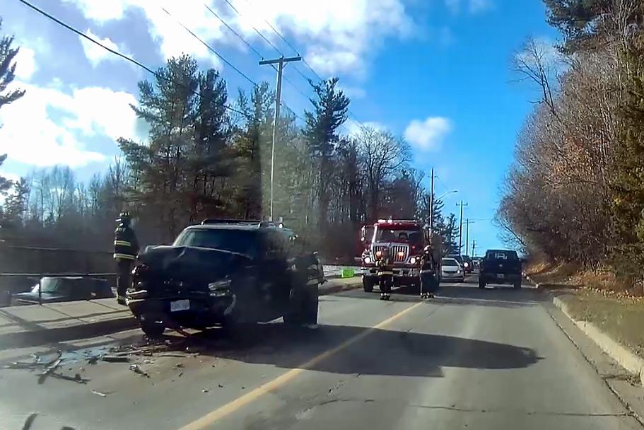Bay Hill crash on Saturday morning
