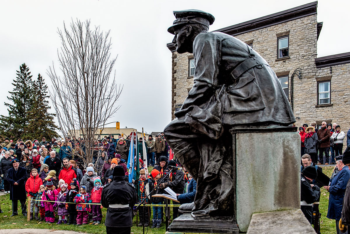Remembrance Day in Almonte, 2019