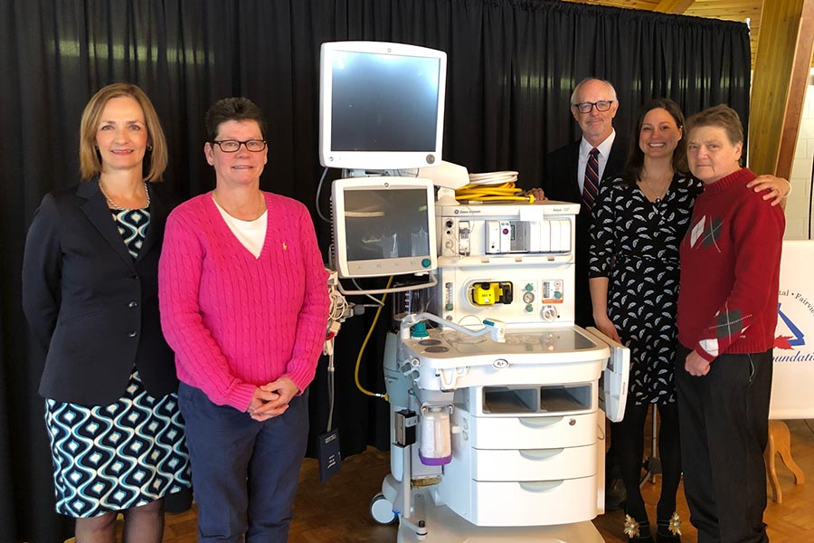 $190,000 donation buys anaesthesia machines for AGH