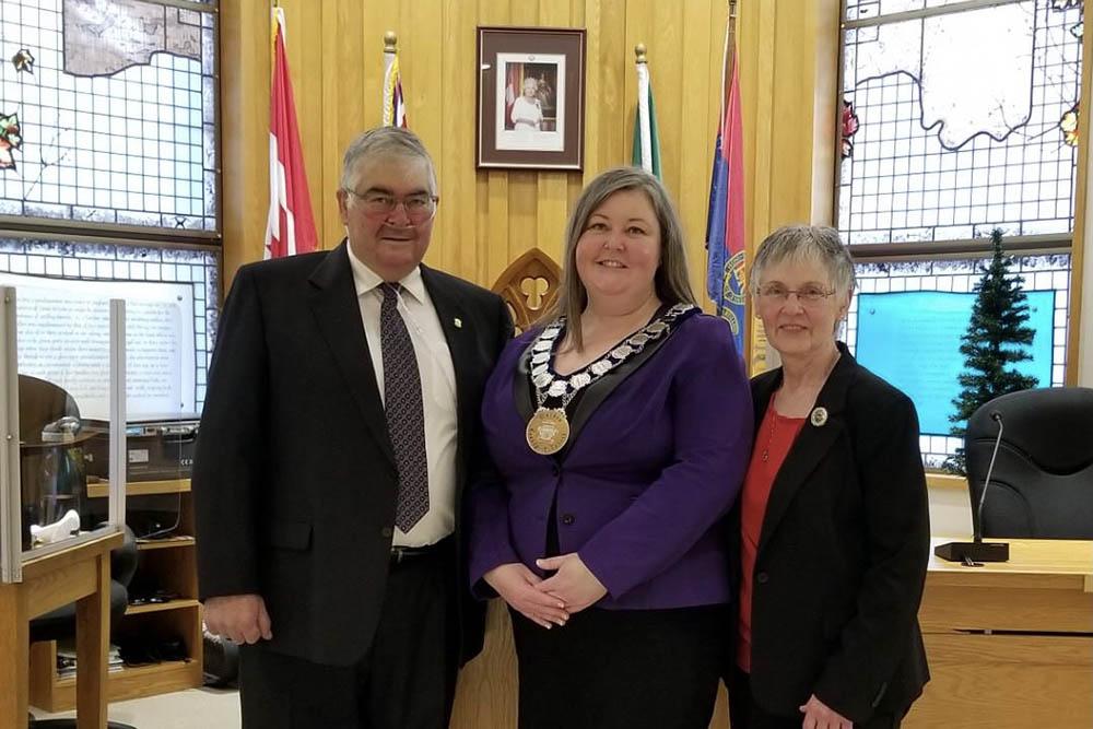 Mayor Lowry is now also warden of Lanark County